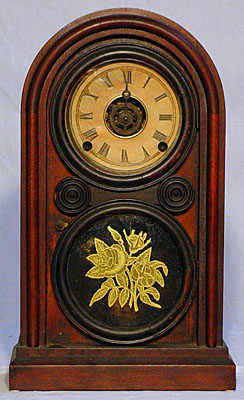 Ingraham mantel clocks antique